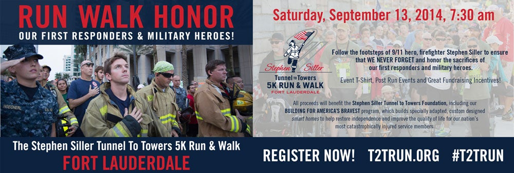 Tunnel To Towers 5k Run Walk Fort Lauderdale