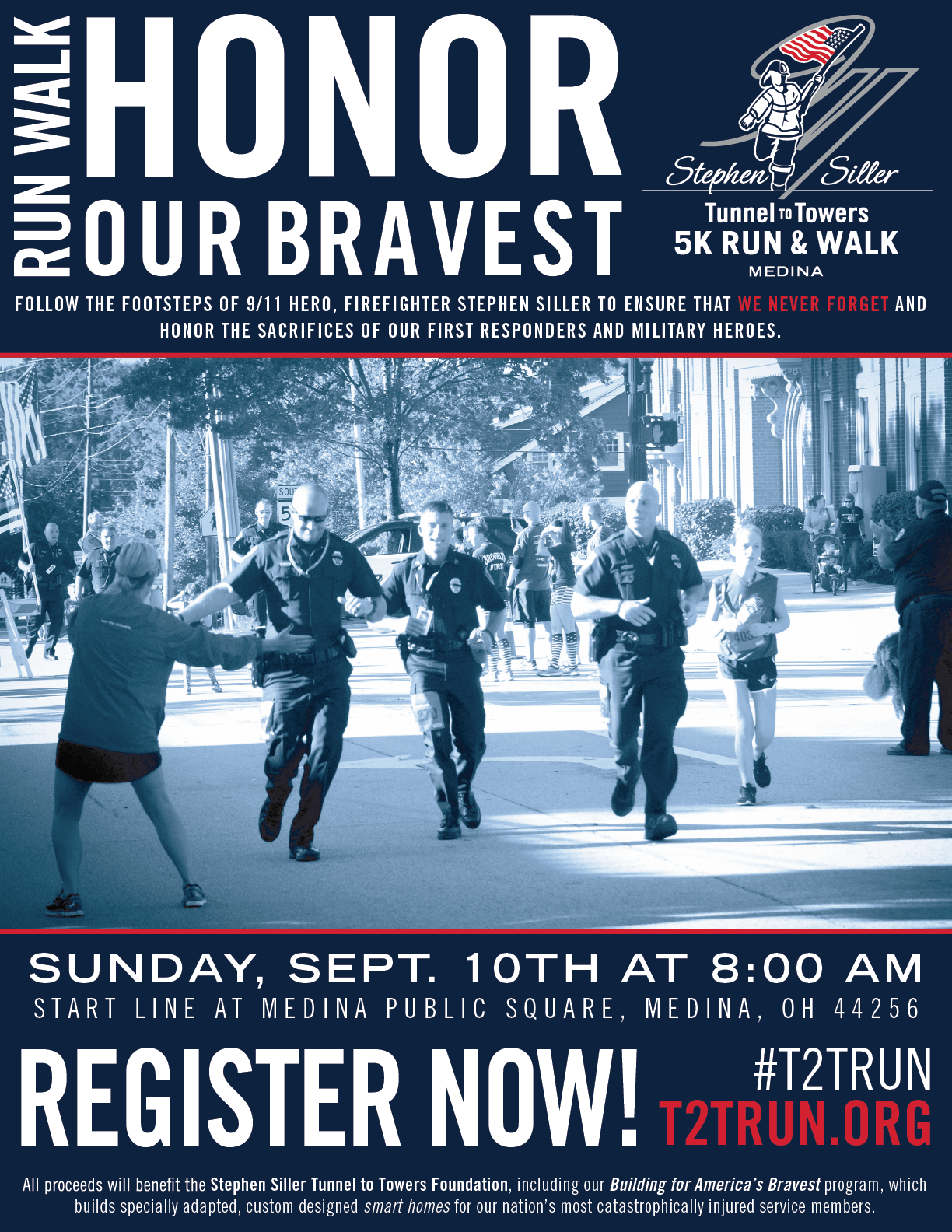2017 Tunnel to Towers 5K Run & Walk Medina - Stephen Siller