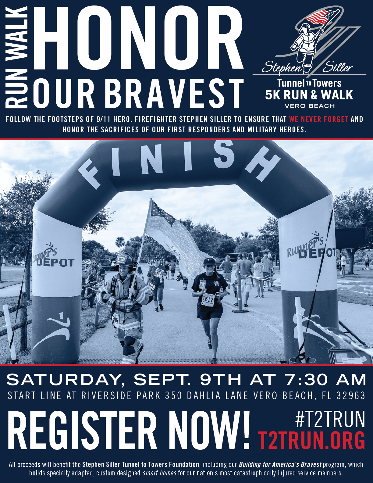 2017 Tunnel to Towers 5K Run & Walk Vero Beach - Stephen ...