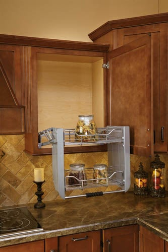 Upper kitchen cabinets lifts