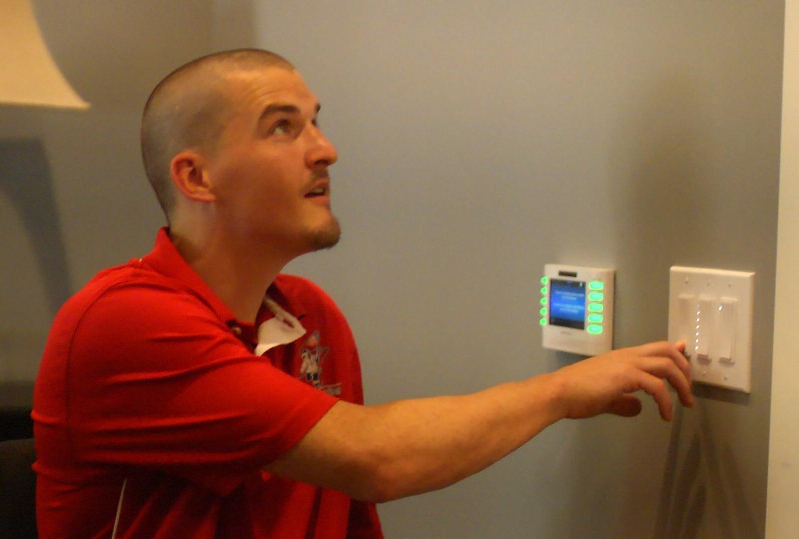 Sensor controlled lighting system