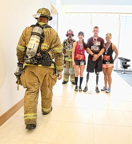 2017 Charlotte Tower Climb Photo