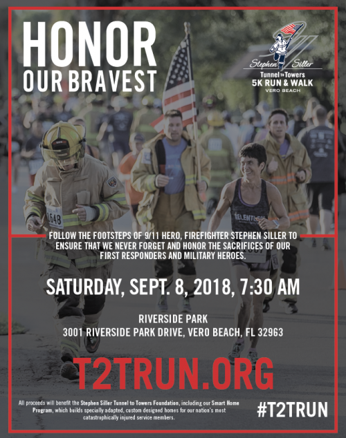 2018 Tunnel to Towers 5K Run & Walk Vero Beach - Stephen ...