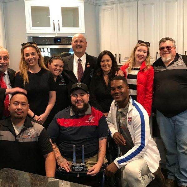 Tunnel to Towers Smart-Home Recipient Matthew Levya Guest of Honor at Army-Navy Game