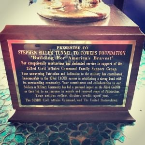 Stephen Siller Tunnel to Towers Foundation Hosts 353rd Civil Affairs Command Holiday Party