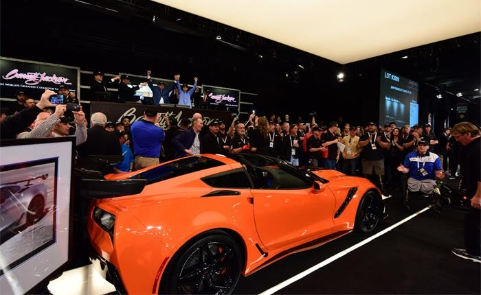 GMC and Barrett-Jackson Auction First 2019 ZR1 Corvette for Tunnel to Towers