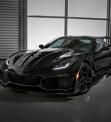 GMC and Barrett-Jackson Auction First 2019 ZR1 Corvette for Tunnel to Towers Photo