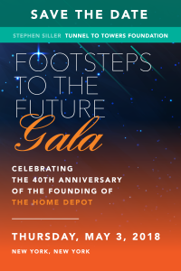 Tunnel to Towers Announces 2nd Annual Footsteps to the Future Gala