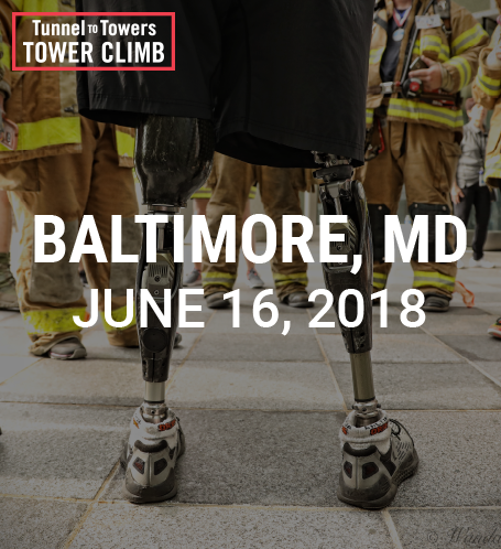 Tunnel to Towers Tower Climb Baltimore Photo