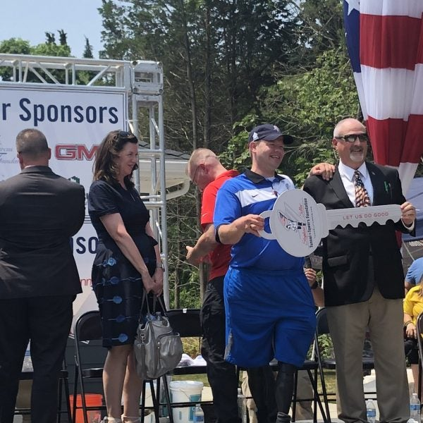 Tunnel to Towers Builds Injured Army CPL Chris Levi Smart Home for Fourth of July