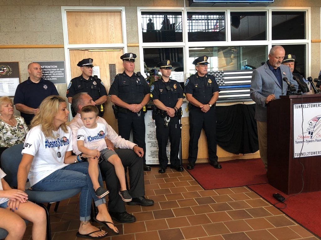 Donations From Around the World Help Tunnel to Towers Pay Off Mortgage of Slain Massachusetts Police Sergeant
