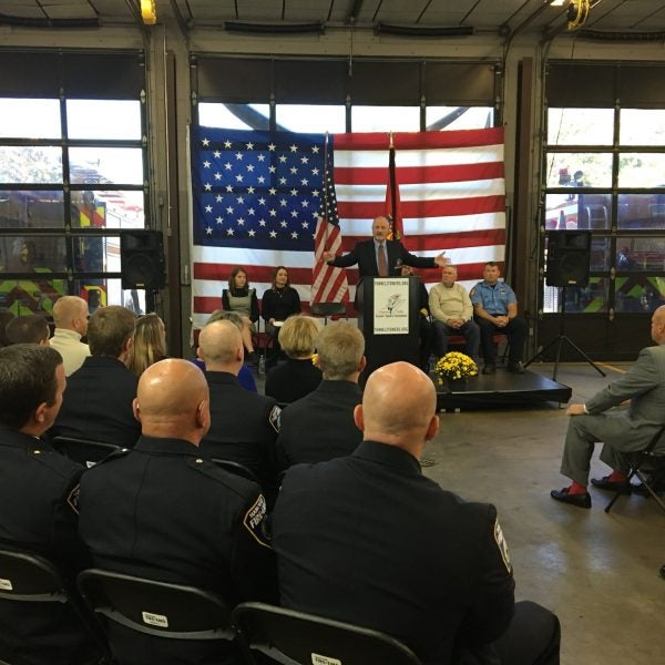 Tunnel to Towers to Pay Off Firefighter Lt. Bradford Clark's Family's Mortgage