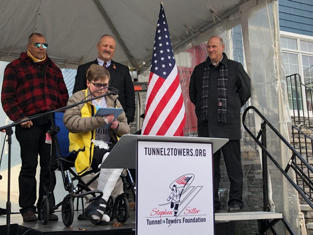 Tunnel to Towers Delivers Smart Home to Teen with Rare Skin Condition