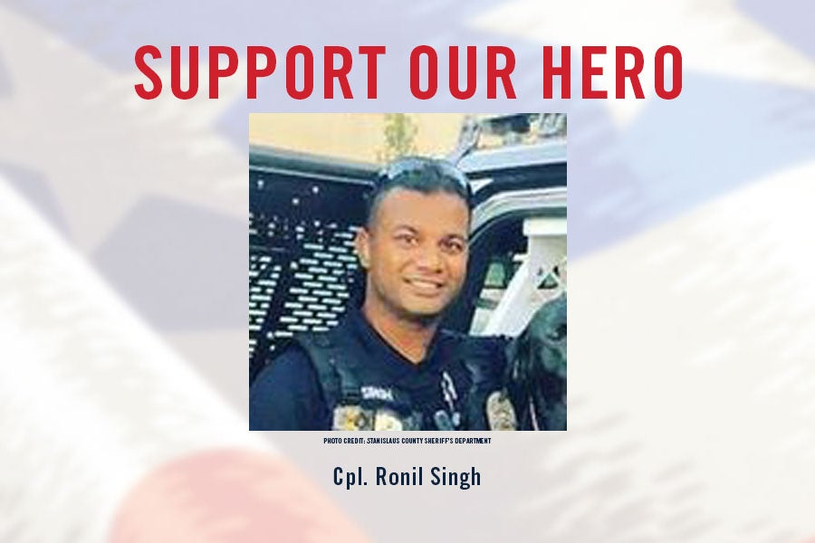 Foundation to Pay Family Mortgage of Slain Police Cpl. Ronil Singh