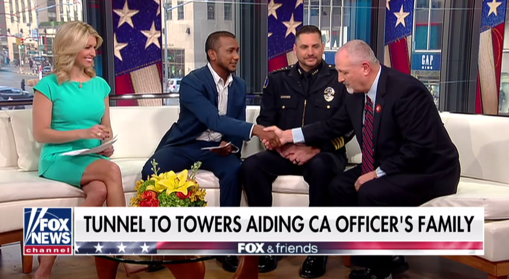 Tunnel to Towers Pays off Mortgage on Slain California Police Cpl Singh's Home