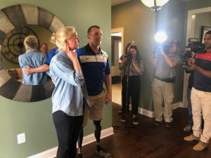 Tunnel to Towers Unveils New Smart Home to USMC Sgt Rob Jones
