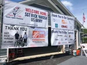 Foundation Unveils Mortgage-free Smart Home to Army SGT Rick Yarosh