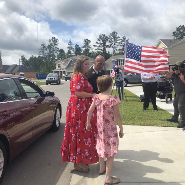 Gold Star Family of Fallen Army SFC Celiz Receives Home