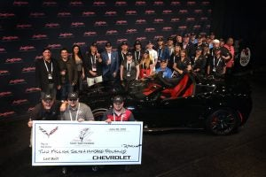 Tunnel to Towers Receives Record-breaking $2.7 Million from Corvette Auction