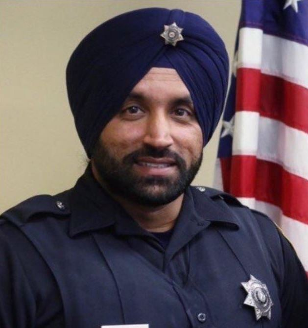 Support Fallen Deputy Sandeep Dhaliwal Photo