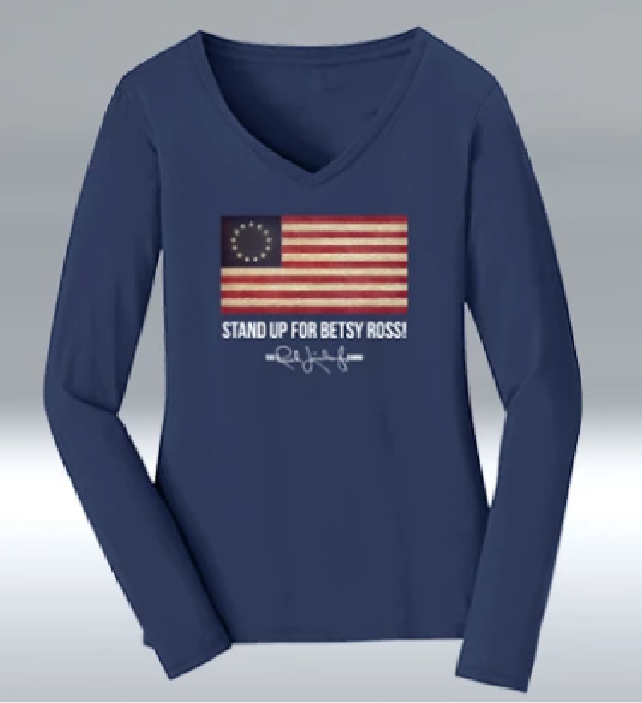 New Ladies Betsy Ross Shirt Available! Photo