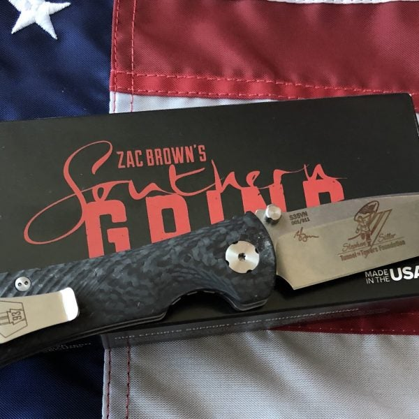Zac Brown's Southern GRIND Announces Limited Edition Tunnel to Towers Knife