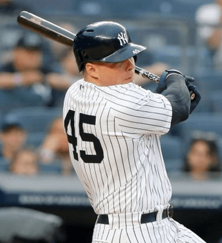 Luke Voit's Yankees Giveaway Photo