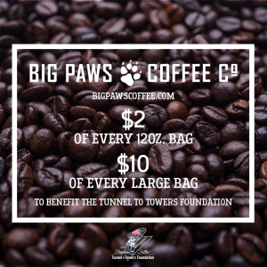 Big Paws Coffee Company Raises Money for Tunnel to Towers