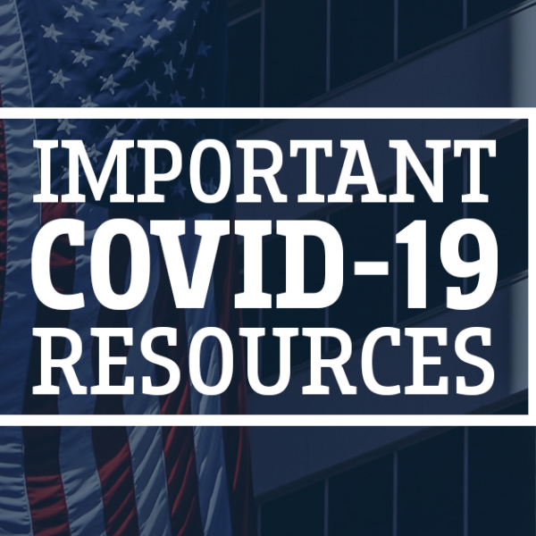Important Resources for COVID-19