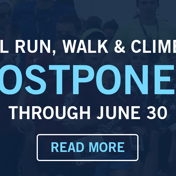 National Run, Walk & Climb Series Postponed Due to Coronavirus