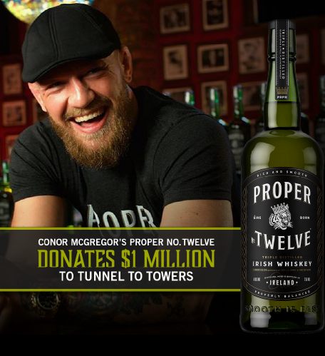 Conor McGregor's Proper No. 12's $1 Million Photo