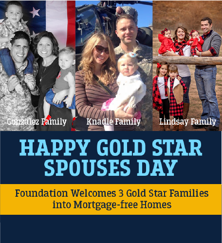 Foundation Welcomes 3 Gold Star Families Photo