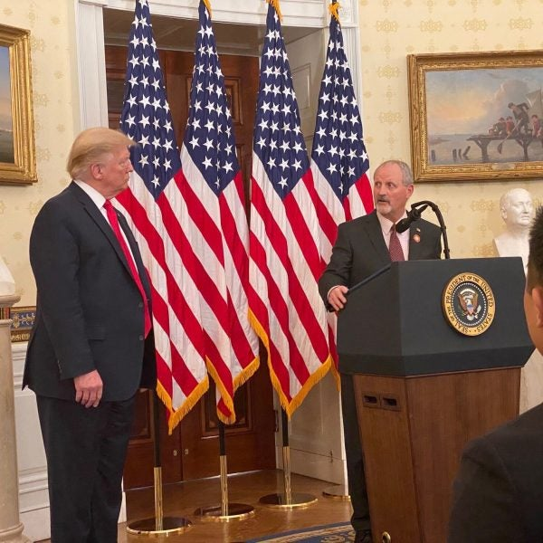 Tunnel to Towers Honored by President Trump at the White House