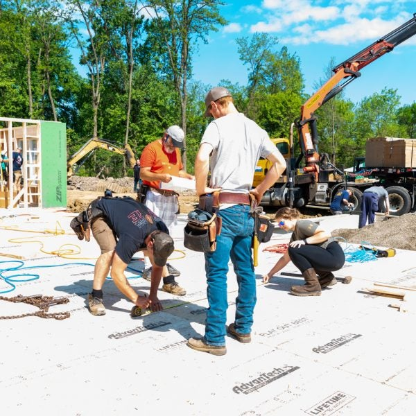 Tunnel to Towers & Soldier's Journey Home Build Veteran Smart Home in 12 Days