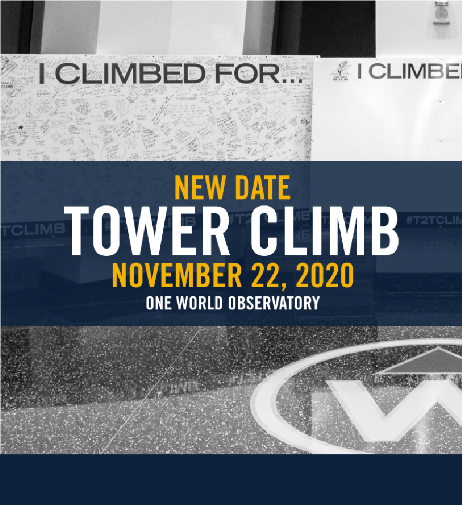NEW DATE: Tower Climb NYC Nov. 22 Photo