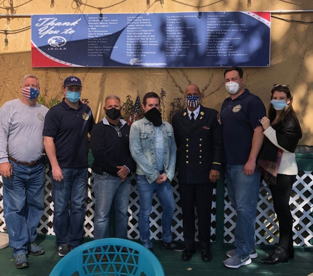 """IROAR Supports Tunnel to Towers with """"Dine Out to Remember"""""""