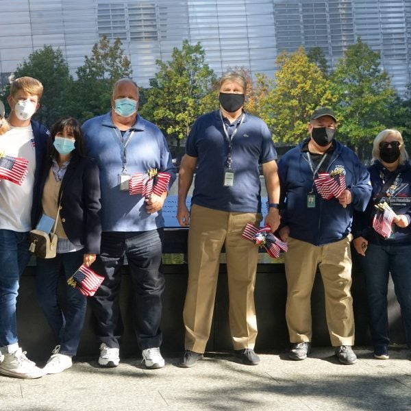 """Friends of the Memorial"" Participate in #NEVERFORGET Virtual Challenge"