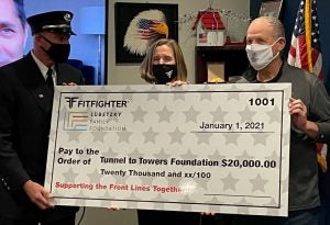 Fitfighter and Shark Tank's Daniel Lubetzky Donate $20,000 to Tunnel to Towers