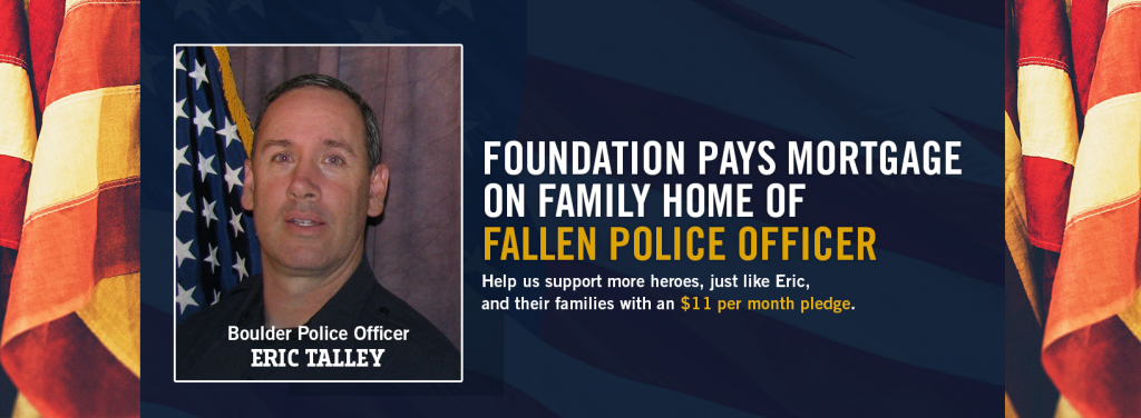 Tunnel to Towers Pays Mortgage of Family Home of Fallen Boulder Officer
