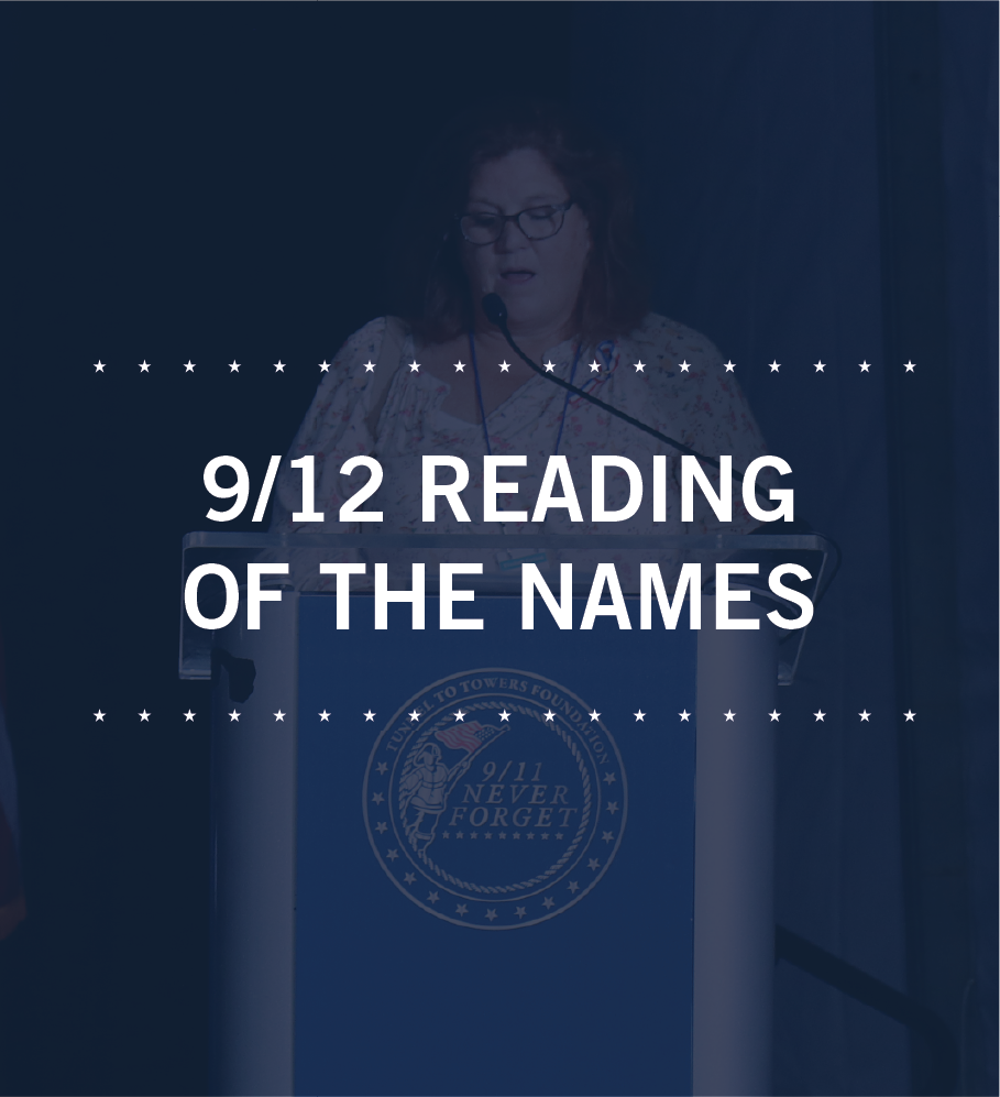9/12 Reading of the Names Photo