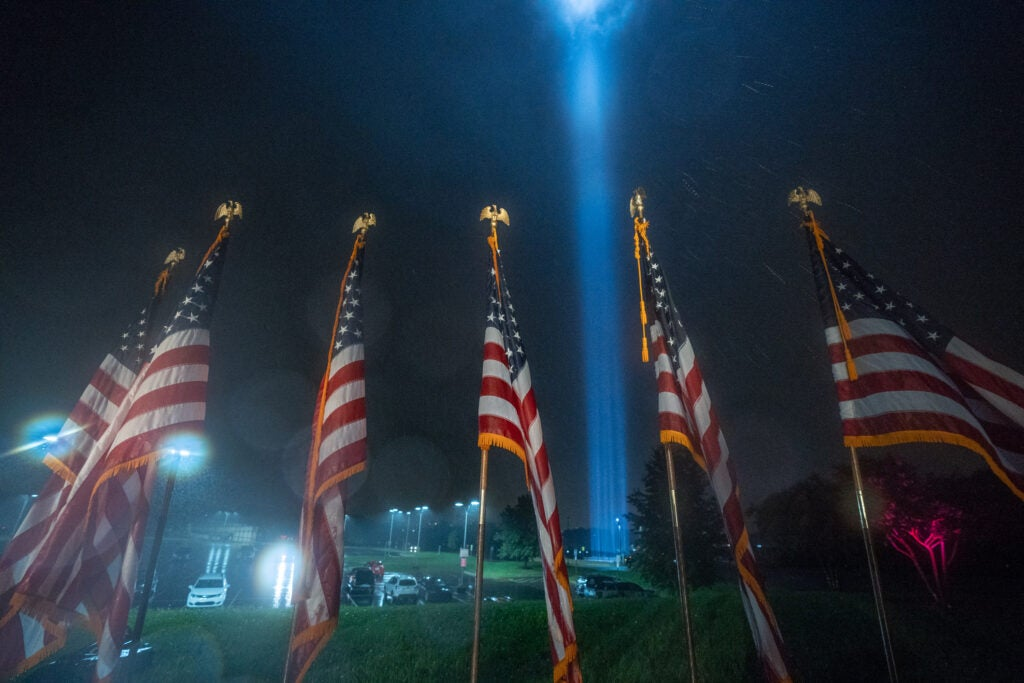 2021 Towers of Light Tributes at the Pentagon & Flight 93 Memorial